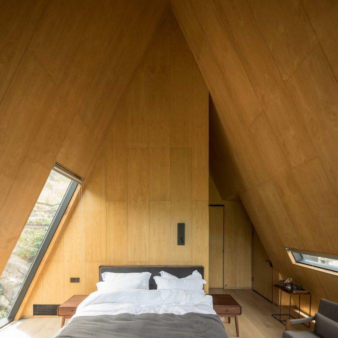 Простые деревянные домики
