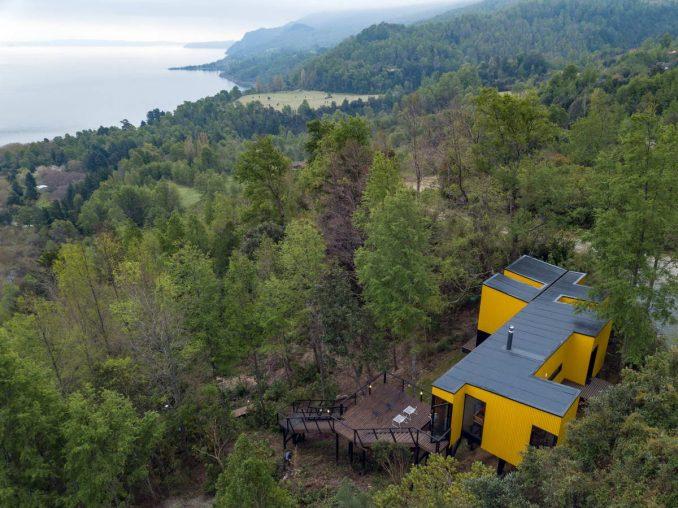Модульный лесной дом