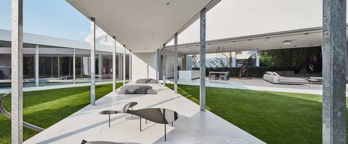 Дом с мобильной террасой