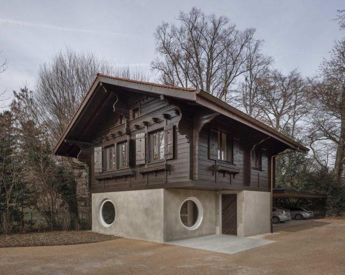 Очень неожиданный дом
