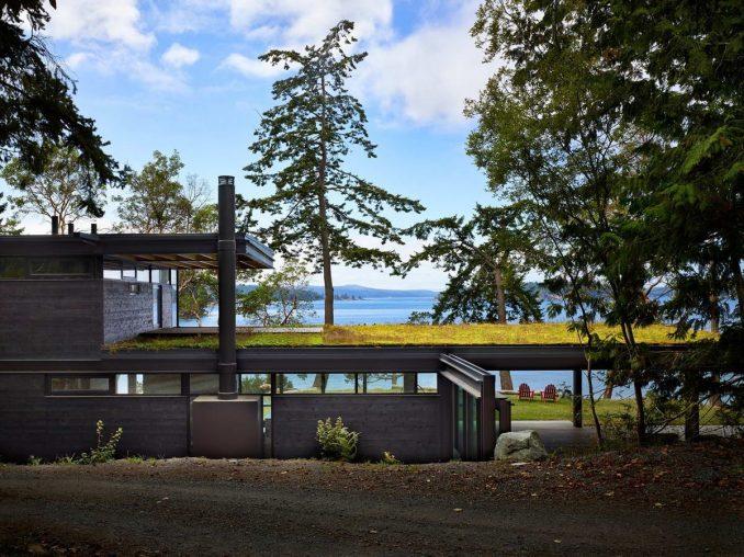 Дом для отдыха на острове