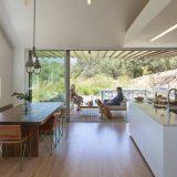 Тройной дом для повара на склоне - Отделка