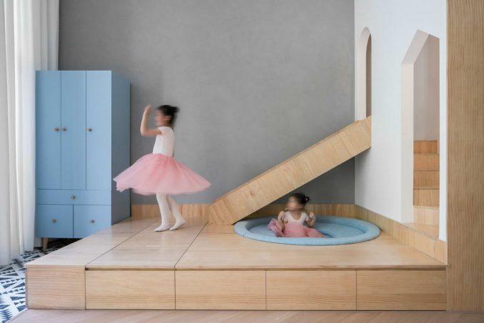 Необычное пространство для детей