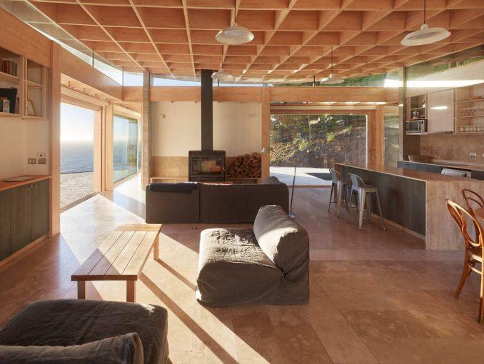 Необычный дачный дом - Интерьер