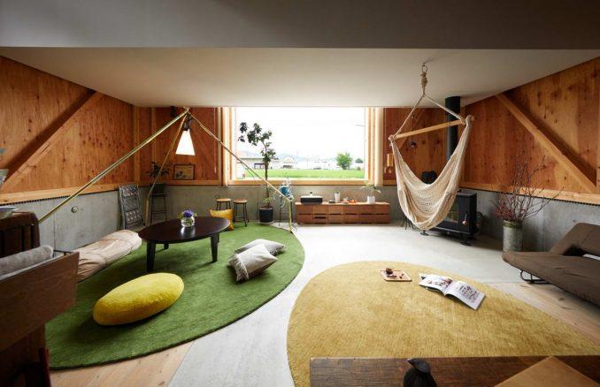 Концептуальный японский дом