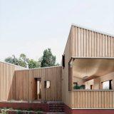 Необычный дом с дворами - Отделка