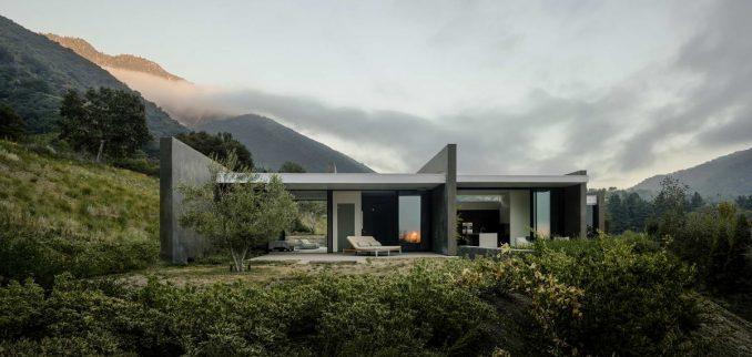 Роскошный минималистский дом