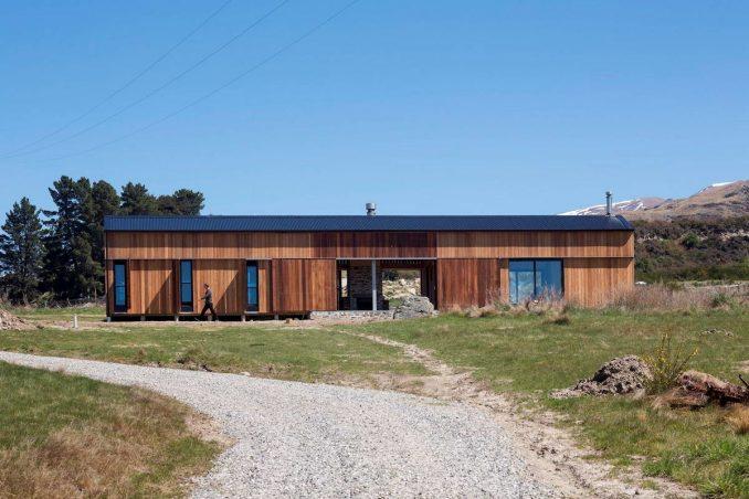 Дачный дом в амбарной стилистике (Barn House)