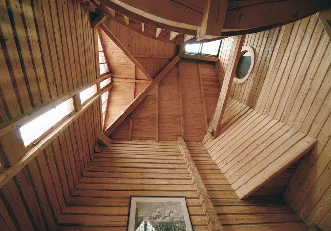 Тройной дом из бруса у Балтийского моря