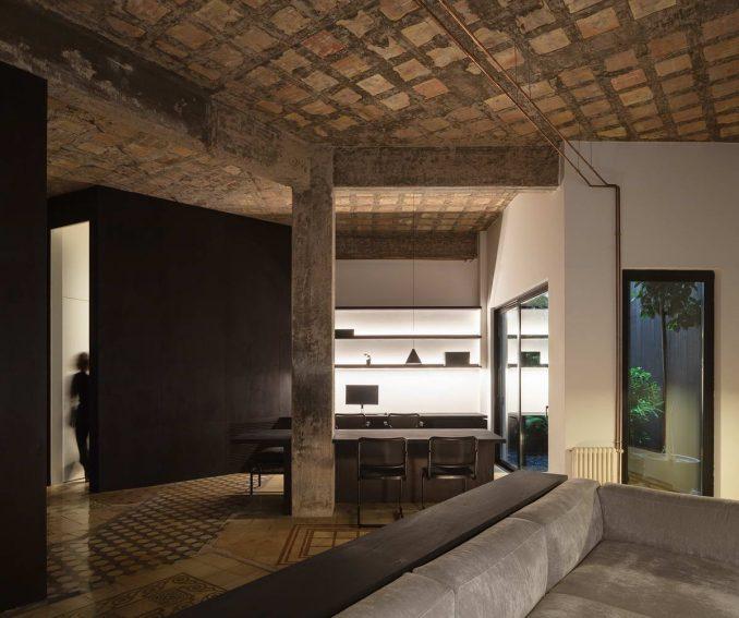 Новый интерьер квартиры с историей