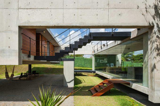 Остроумный дом для загородного отдыха