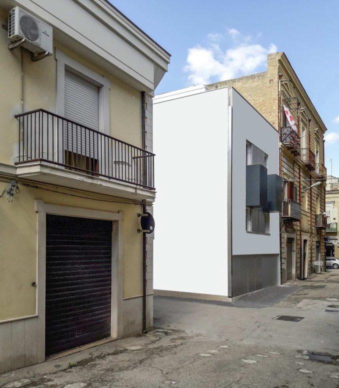 Минималистский дом в Италии