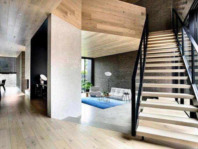 Модернистское расширение дома в Австралии