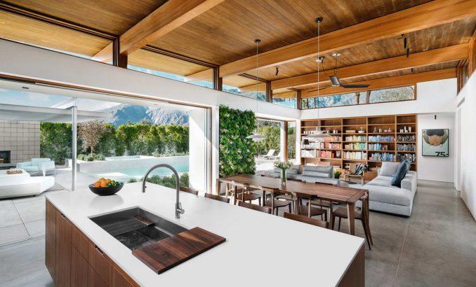 Простой, элегантный и воспроизводимый дом - Интерьер