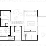 Дом со скошенными стенами и двумя дворами - Интерьер